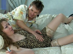 Leila and Rolf furious adult video