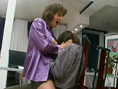 Helena and Danil awesome mature action