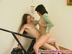 Laura with the addition of Marcus kinky mature video