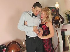 Silvia and Mike kinky mom on video