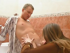 Penelope and Adrian red hot mature pretence