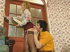 Ramona and Adam kinky mature action