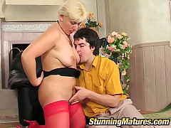 Penny and Adam hot mom helter-skelter portray