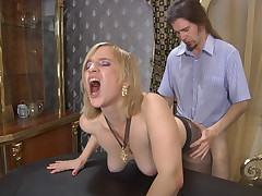 Susanna with the addition of Jerome mature pantyhose video