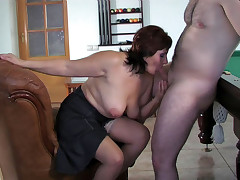 Viola and Peter raunchy mature action