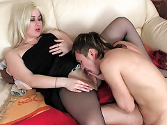 Elisabeth and Rolf mature pantyhose movie