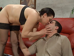 Elsa coupled with Lucas hardcore mature video