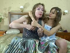 Leila and Laura vivid lesbian mature action