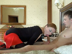 Rita and Rolf awesome mature action