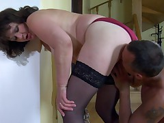Emilia and Connor raunchy mature video