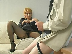 Christina and Tobias raunchy mature action