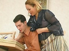 Sara and Jerome long-legged mom heavens video