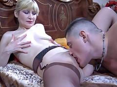 Amelia B and Claudius passionate mature action