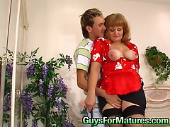 Viola and Rolf raunchy mature movie
