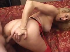 Sexy Blonde Mature Dana Devine Has Banged And Creampied