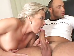 Lucky Man Has To Try Laid A Simmering Mature Added to A Smut Blondie