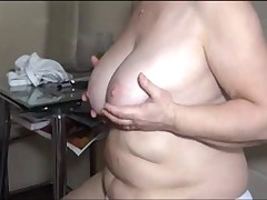 Erotic Mature Female Is Pleasuring Relating to The Kitchen