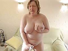 Mature Fat Lady – Amateur Dildo Bbw