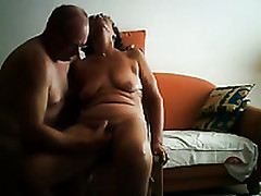 My Mature Granny Wife Increased by I On Webcam For The First Era