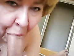 Mature Heavy Waxen Peaches Lady Is Gobbling My Fat Rod