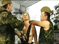 Mature Slave Getting Punished By Two Guys
