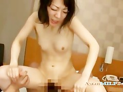 Mature Woman With Small Bowels Getting Her Hairy Pussy Fucked By Big Guy Crea