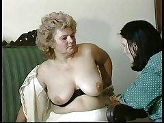 GRANNY AWARD n14 Victorian bbw mature down a toung man