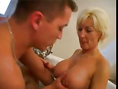 Mature chick and guy