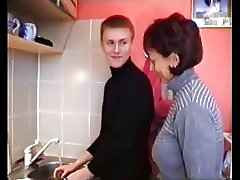 Mature Russian Women there young men part 1
