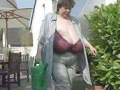 Karola Gargantuan Granny Tits