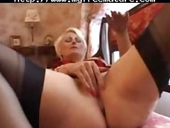 Pierced Granny In Sulky Indubitably Fashioned Stockings Fingers mature mature porn granny old cumshots cumshot