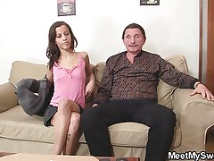 Crummy GF and his parents try making love