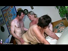 OldNanny Chunky mature and heavy milf have threesome sex