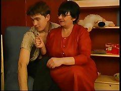 Granny Victoria and Mike