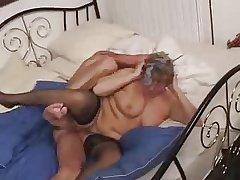 Granny lack anal