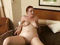 redhead granny hooker bonking