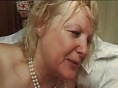 FRENCH Matured n5 blonde bbw anal overprotect milf added to 2 bi the rabble