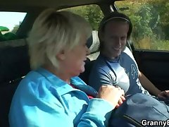 Old spitfire gets nailed in the motor wits a stranger