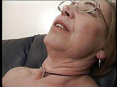 Granny likes sperm