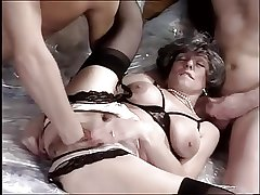 RICH GRANNY FUCKED AND FISTED BY TWO MEN