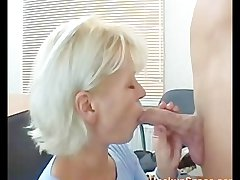 Skinny Blonde Pretty Grown up Mother Fucked By A Guy