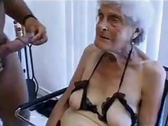 Ugly venerable granny gets fucked