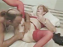 Morose Granny Diane Fucking