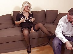 hot blonde granny regarding hot sex
