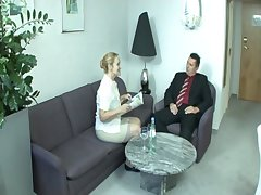 Old german lady Bea Dumas property fucked more than the couch
