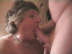 Fat Breasted Granny Norma Loves To Ride A Hard Cock