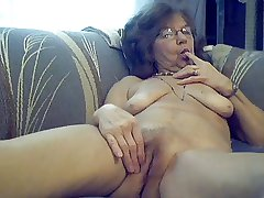 64 y.o. sweet sexy granny with pang hair
