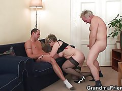 Old trilogy orgy inhibition pussy masturbating