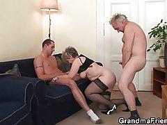 Old trilogy orgy inhibition pussy masturbating