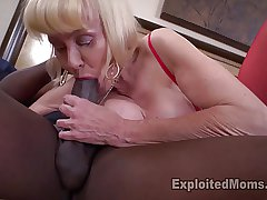 Granny wide huge tits takes a pounding from frat brother
